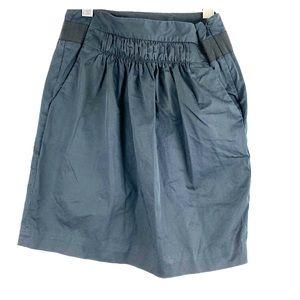 Banana Republic Black Nylon Skirt 00P
